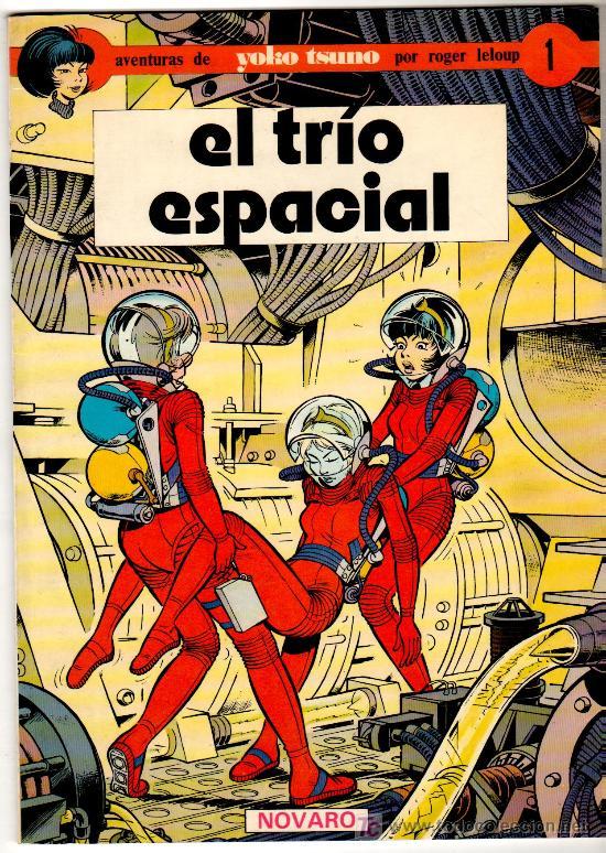 YOKO TSUNO Nº 1 , NOVARO 1979, RARO EJEMPLAR EN COLOR, 48 PAGINAS (Tebeos y Comics - Juventud - Yoko Tsuno)