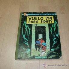 Cómics: TINTIN, VUELO 714 PARA SIDNEY, 1 EDICIÓN, JUVENTUD, 1969. Lote 11444779