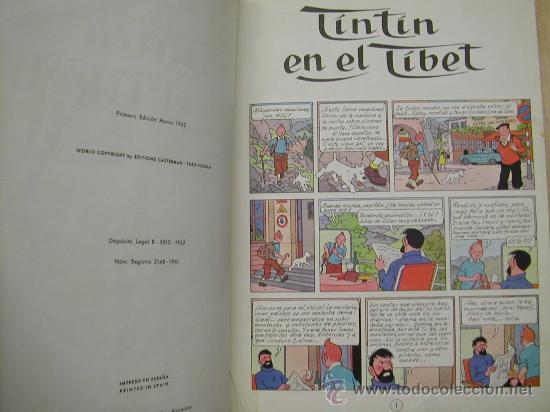 Cómics: CUATRO TINTIN HERGE JUVENTUD PRIMERA EDICION ENCUADERNADOS EN UN TOMO. CONGO TIBET STOCK CIGARROS - Foto 3 - 21313544