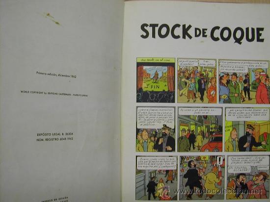 Cómics: CUATRO TINTIN HERGE JUVENTUD PRIMERA EDICION ENCUADERNADOS EN UN TOMO. CONGO TIBET STOCK CIGARROS - Foto 4 - 21313544