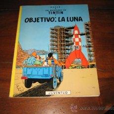 Cómics: LAS AVENTURAS DE TINTIN .OBJETIVO LA LUNA .-HERGE .-EDITORIAL JUVENTUD.-8ª EDICION 1981. Lote 12555685