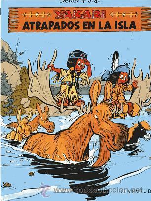 COMIC YAKARI, Nº 9: ATRAPADOS EN LA ISLA (Tebeos y Comics - Juventud - Yakary)