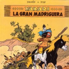 Cómics: YAKARI. LA GRAN MADRIGUERA. DERIB + JOB. EDITORIAL JUVENTUD.. Lote 26403247