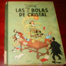 Cómics: TINTIN - LAS SIETE BOLAS DE CRISTAL - HERGE - LOMO TELA 2ª EDICIÓN 1967 - ED. JUVENTUD. Lote 27525457