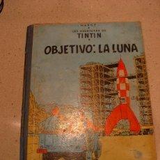 Cómics: TINTIN. OBJETIVO : LA LUNA, ED. JUVENTUD. EDICIÓN 1965. Lote 14951740