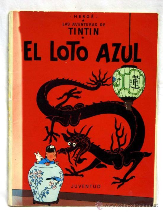 TINTIN EL LOTO AZUL JUVENTUD 1979 (Tebeos y Comics - Juventud - Tintín)