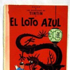 Cómics: TINTIN EL LOTO AZUL JUVENTUD 1979. Lote 15243864