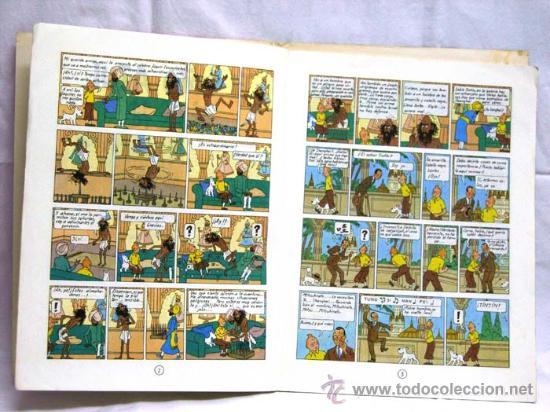 Cómics: Tintin El loto azul Juventud 1979 - Foto 2 - 15243864