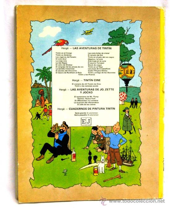 Cómics: Tintin El loto azul Juventud 1979 - Foto 3 - 15243864