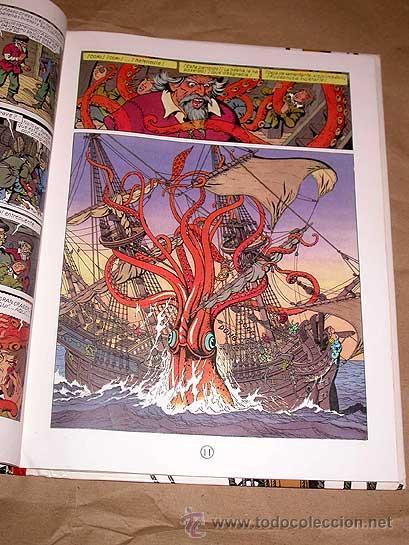 Cómics: BOB DE MOOR. CORI EL GRUMETE. LA EXPEDICION MALDITA. EDITORIAL JUVENTUD 1989. KRAKEN. - Foto 3 - 25446823