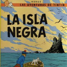 Cómics: TINTIN - LA ISLA NEGRA - HERGÉ - JUVENTUD - 7ª EDICIÓN 1981. Lote 27159581