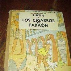 Cómics: LAS AVENTURAS DE TINTIN. LOS CIGARROS DEL FARAON. HERGE. 2ª EDICION 1965. EDIT. JUVENTUD. Lote 17845897