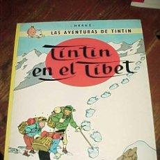Cómics: TINTIN EN EL TIBET. LAS AVENTURAS DE TINTIN. HERGE. EDIT. JUVENTUD. 10ª EDICION 1985.. Lote 17861088