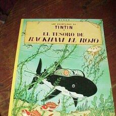 Cómics: EL TESORO DE RACKHAM EL ROJO. LAS AVENTURAS DE TINTIN. HERGE. EDIT. JUVENTUD. 11ª EDICION 1986. Lote 17861831