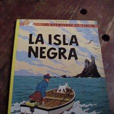 Fumetti: LA ISLA NEGRA. LAS AVENTURAS DE TINTIN. HERGE. EDIT. JUVENTUD. 10ª EDIC. 1986.. Lote 17947793