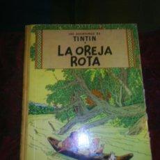 Comics : M69 LAS AVENTURAS DE TINTIN LA OREJA ROTA ED JUVENTUD 1969 3º ED . Lote 18232071