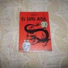 Cómics: PROPAGANDA TINTIN EL LOTO AZUL ,EDITORIAL JUVENTUD. Lote 18748110