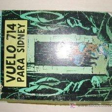 Cómics: TINTIN VUELO 714 PARA SIDNEY PRIMERA EDICION 1969. Lote 27107260
