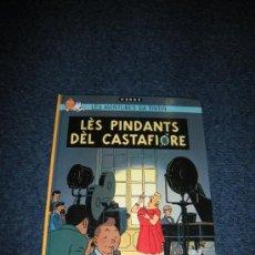 Cómics: TINTIN IDIOMAS - LAS JOYAS DE CASTAFIORE - WALLON OTTIGNIES - LES PINDANTS DEL CASTAFIORE - 500 EJ.. Lote 263225425