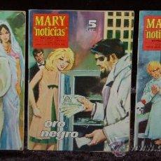 Cómics: LOTE DE 3 REVISTAS JUVENILES FEMENINAS-MARY . Lote 26931275