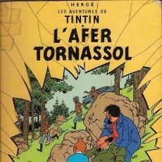 Cómics: 1003L - LES AVENTURES DE TINTIN - L' AFER TORNASSOL 4TA. EDICIO 1981- EN CATALAN - . Lote 24753888