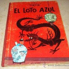 Cómics: TINTIN - EL LOTO AZUL - EDICION 1970. Lote 22159132