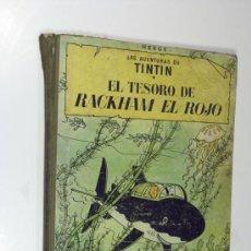 Cómics: LAS AVENTURAS DE TINTIN. EL TESORO DE RACKHAM EL ROJO. JUVENTUD 4ª EDICIÓN. 1967. Lote 22406457