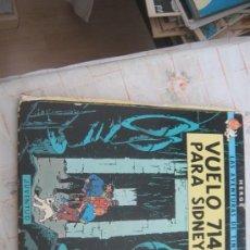 Cómics: TINTIN,VUELO 714 PARA SIDNEY,CUARTA EDICION 1978.. Lote 22746072