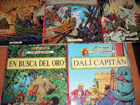 Cómics: CORI EL GRUMETE COLECCION COMPLETA 5 TOMOS EDITORIAL JUVENTUT DE BOB DE MOOR IMPECABLES - Foto 3 - 26835837