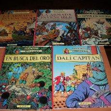 Cómics: CORI EL GRUMETE COLECCION COMPLETA 5 TOMOS EDITORIAL JUVENTUT DE BOB DE MOOR IMPECABLES. Lote 26835837
