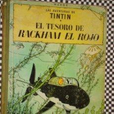 Cómics: * TINTÍN EL TESORO DE RACKHAM EL ROJO * CUARTA EDICIÓN*CON LOMO DE TELA* AÑO 1967 * JUVENTUD +. Lote 23269416