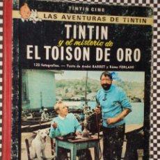 Cómics: * TINTÍN EL MISTERIO DE EL TOISON DE ORO * PRIMERA EDICIÓN*CON LOMO DE TELA* AÑO 1968 * JUVENTUD +. Lote 23269442