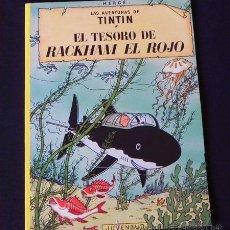 Cómics: EL TESORO DE RACKHAM EL ROJO - TINTIN AVENTURA HUMOR - HERGÉ - CÓMIC - EDITORIAL JUVENTUD. Lote 35365266