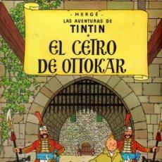 Cómics: TINTIN EL CETRO DE OTTOKAR - ED.JUVENTUD 1988 (TAPA DURA). Lote 25958410