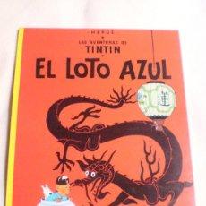 Cómics: TINTIN Y EL LOTO AZUL TAPA BLANDA... Lote 26344047