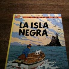 Cómics: TINTIN - LA ISLA NEGRA. Lote 24050816