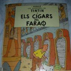 Cómics: TINTIN EL CIGARS DEL FARAO EN CATALAN? - ENVIO GRATIS A ESPAÑA. Lote 24239524