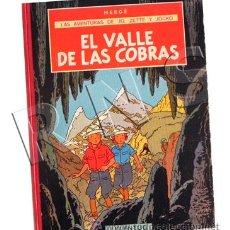 Cómics: CÓMIC EL VALLE DE LAS COBRAS AVENTURAS JO ZETTE Y JOCKO HERGÉ (AUTOR DE TINTÍN ) 1ª EDICIÓN JUVENTUD. Lote 32563943