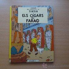 Cómics: TINTIN - ELS CIGARS DEL FARAO - 6ª EDICION HERGÉ JOVENTUT. Lote 27450772