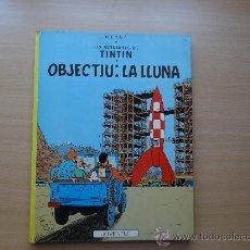 Cómics: TINTIN - OBJECTIU LA LLUNA - 5ª EDICION HERGÉ JOVENTUT. Lote 27450795