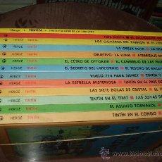 Cómics: LAS AVENTURAS DE TINTIN. CIRCULO DE LECTORES 1993. Lote 27506579