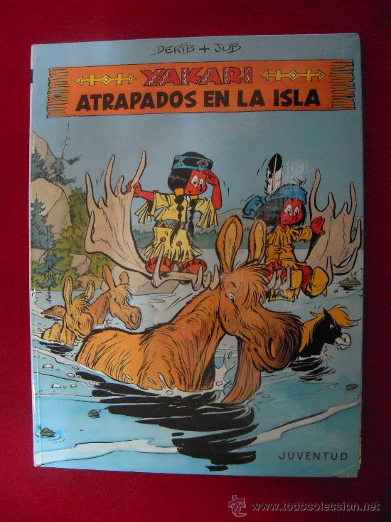 YAKARI 9 - ATRAPADOS EN LA ISLA - DERIB &JOB - TAPA DURA (Tebeos y Comics - Juventud - Yakary)