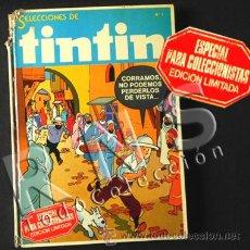 Cómics: CÓMIC TINTIN ESPECIAL COLECCIONISTAS Nº 1 BRUGUERA LIMITADA 5 REVISTA HERGÉ DIFÍCIL CONSEG- REVISTAS. Lote 32563950