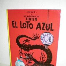 Cómics: TINTÍN 5 - EL LOTO AZUL - HERGÉ - EDITORIAL JUVENTUD - EDICIÓN ACTUAL. Lote 26509058
