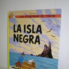 Cómics: TINTÍN 7 - LA ISLA NEGRA - HERGÉ - EDITORIAL JUVENTUD - EDICIÓN ACTUAL. Lote 26509101