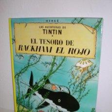 Cómics: TINTÍN 12 - EL TESORO DE RACKHAM EL ROJO - HERGÉ - EDITORIAL JUVENTUD - EDICIÓN ACTUAL. Lote 26509227