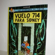 Cómics: TINTÍN 22 - VUELO 714 PARA SÍDNEY - HERGÉ - EDITORIAL JUVENTUD - EDICIÓN ACTUAL. Lote 26509511