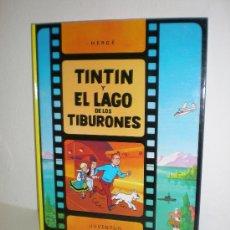 Cómics: TINTÍN Y EL LAGO DE LOS TIBURONES - JUVENTUD - EDICION ACTUAL. Lote 26509543