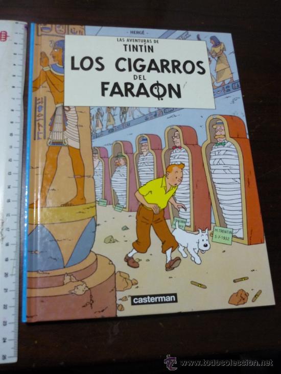 TINTIN LOS CIGARROS DEL FARAON - CASTERMAN PANINI 2001 - DESCATALOGADO - NUEVO (Tebeos y Comics - Juventud - Tintín)