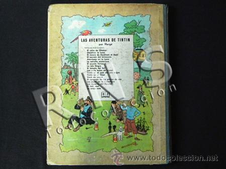Cómics: CÓMIC TINTÍN - EL CANGREJO DE LAS PINZAS DE ORO - 2ª EDICIÓN AÑO 1966 - AVENTURA HERGÉ JUVENTUD - Foto 3 - 26810048